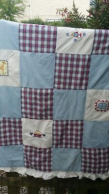 Mothercare Patchwork Baby Quilt