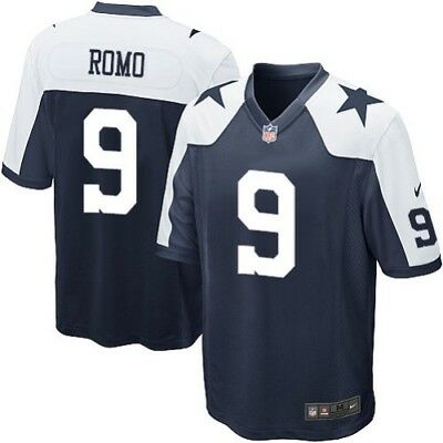Nike Tony Romo Dallas Cowboys Replica Navy ALT Game Jersey Multiple Sizes  NWT f69c4e5b5