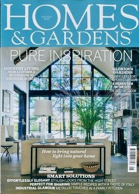 Homes And Gardens Magazine May 2018 ~ New ~