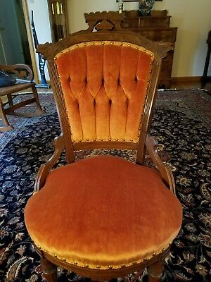 Victorian Eastlake Style Side Chair, late 1800s, Excellent Condition, Pick-Up