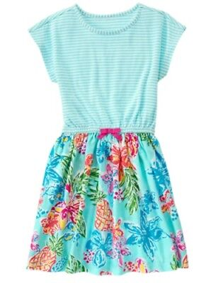 NWT Gymboree Mix N Match Girl Tropical Dress  5/6,7/8,10/12