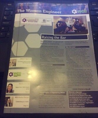 The Woman Engineer Magazine Summer 2018 - Suffragette And Amy Johnson Interest