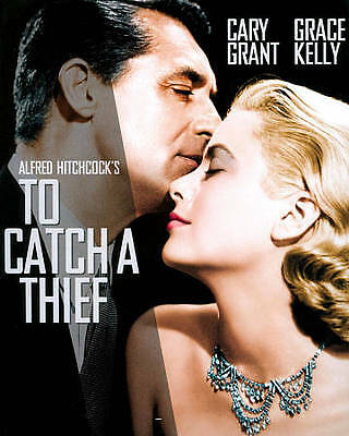 """Alfred Hitchcock, Cary Grant,Grace Kelly """"To Catch A Thief"""" New True US Blue-Ray"""