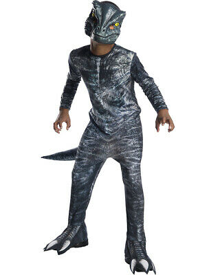 Jurassic World 2 Velociraptor Blue Kids Costume