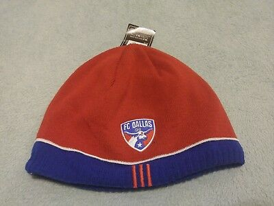 check out bf6f2 2ef61 ... sale fc dallas mls soccer thermal beanie hat bnwt one size 6e838 31742