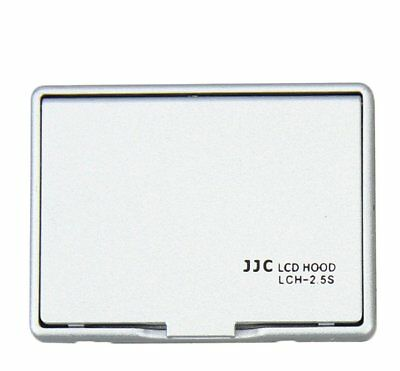 JJC SIL. LCH-2.5S Universal LCD Hood 2.5 for 2.5 inch Screen Display Camera _AU
