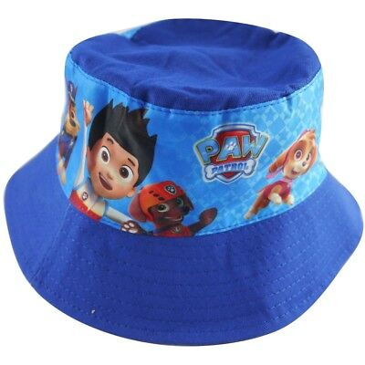 Paw patrol boys hunting camping fishing bucket hat preschool childcare baby