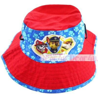 Paw patrol girls boy hunting camping fishing bucket hat preschool childcare baby