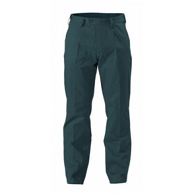 NEW Bisley Pants  Original Cotton Drill Pants Bottle - in Bottle Green - 107 -