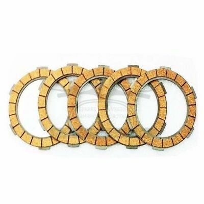 Lambretta Gp Li Tv Sx Clutch Plates Cork Set Of 5 @aud