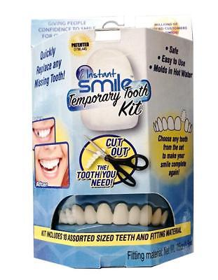 AU Instant Smile Teeth Replacement fast and easy replace missing tooth Temporary