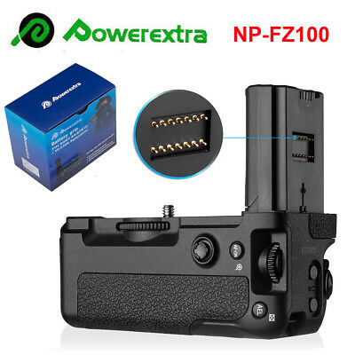 VG-C3EM Battery Holder Grip for Sony Alpha A9/A7 III RIII SLR Camera NP-FZ100