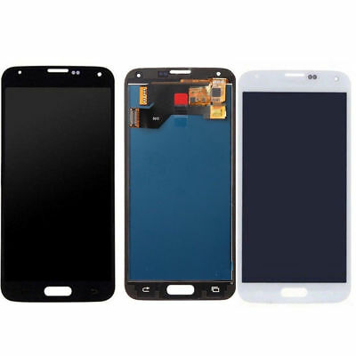 For Samsung Galaxy S5 i9600 G900 Screen Touch Digitizer LCD Display Assembly HU