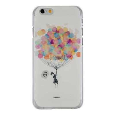 Ultra Thin Hard Shock-proof Balloon Pattern Mobile Phone Cases For Iphone LM
