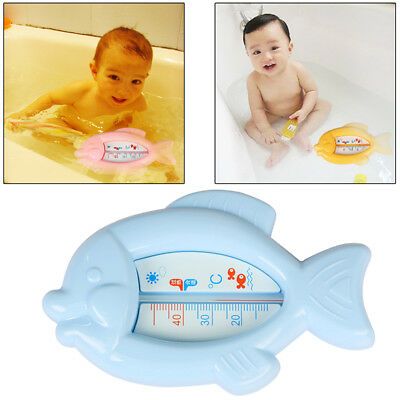 Baby Shower Safe Toy Water Temperature Kids Bath Thermometer Gauge Floating Fish