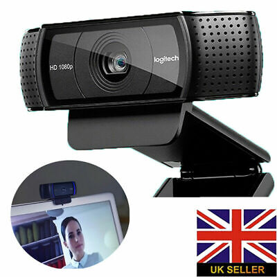 Logitech C920 HD Pro USB 1080p Webcam PC Camera