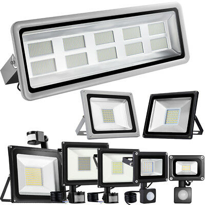 10-1000W projecteur LED Flood Spot Light détecteur de mouvement étanche IP65 DHL