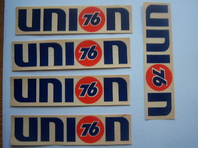Lot of 5 Vintage Union 76 Stickers