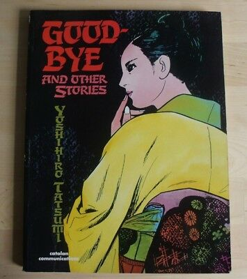 GOOD-BYE AND OTHER STORIES Yoshihiro Tatsumi Catalan Graphic Novel 1987 BOOK VG