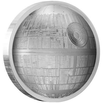 Niue - 5 Dollar 2018 - Star Wars™ Todesstern™ (5.) - 2 Oz Silber PP High Relief