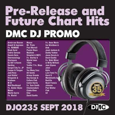 DMC DJ Only 235 Promo Chart Music CDs Ft. Calvin Harris Fe. Sam Smith 'Promises'