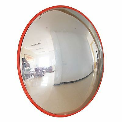 80cm Convex Mirror Traffic Driveway Shop Car Park Wide Angle Safety Security