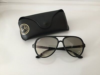 5df656434418e8 RAY-BAN RB4125 CATS 5000 754 32 YELOW SUNGLASSES   COST £130 ...