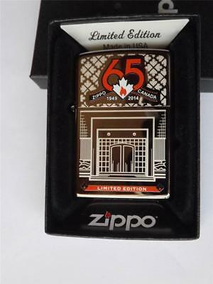 Zippo Niagara Falls 65Th Anniversary Canada Factory Bottom Stamp Special Edition