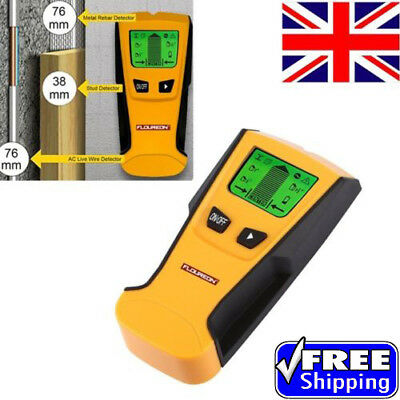 3 in 1 LCD Stud Wood Wall Center Finder Scanner Metal AC Live Wire Detector New