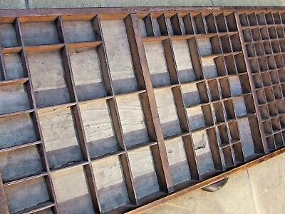 Letterpress Printing OLD JAMES MARR & CO WOODEN TYPECASE Compositor Case M & R