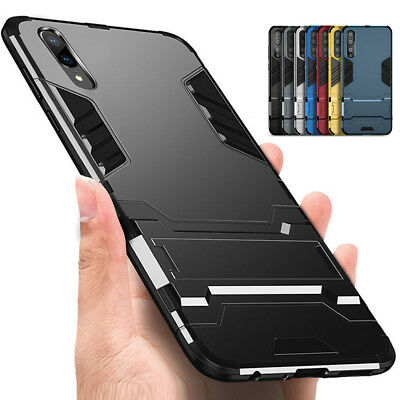 Shockproof Hybrid Armor Kickstand Case Cover For Huawei Mate 10 P10 P20 Lite Pro