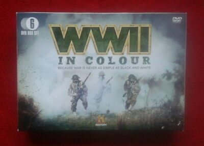 Military History - World War 2 In Colour - 6 Dvd Box Set