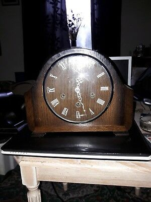 Vintage Smiths Westminster Chimes Mantle Clock.GWO.