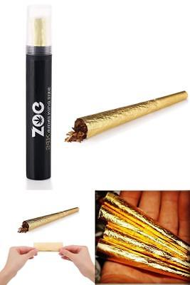 24K Gold King Cone Pre-Rolled Paper