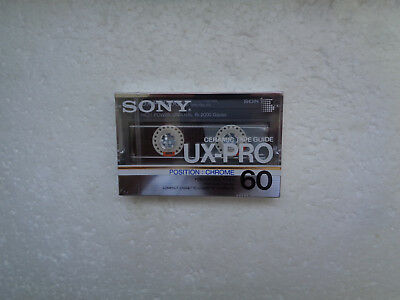Vintage Audio Cassette SONY UX-Pro 60 * Rare From Japan 1986 *