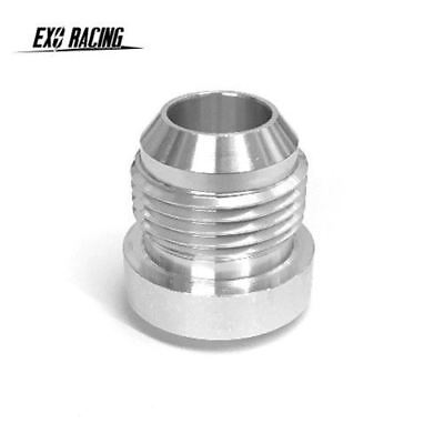AN -10 AN10 -10JIC AN 10 Male Aluminium Weld On Fitting Round Base catch can tan
