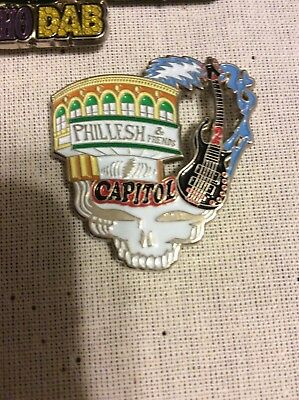 Phil Lesh and friends capital theater steal your face pin