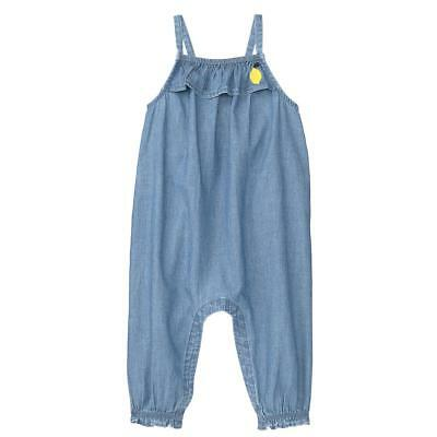 NWT Gymboree Bright Days Ahead Chambray Romper 1 pc Baby Girl 0-3-6-12-18-24M