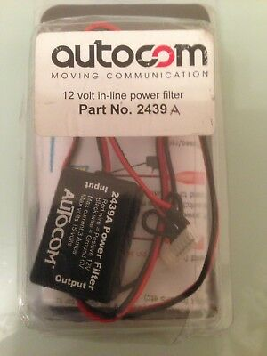 AUTOCOM 12v In-Line Power Filter (Part No. 2439A)