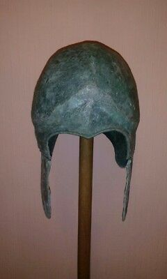 Helmet of the Scythian warrior. Scythians-9 century. Very good condition