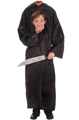 Brand New Horror Headless Boy Child Costume