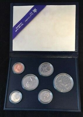 Canada 1981 Specimen Set Royal Canadian Mint 6 Coin Set Case of issue