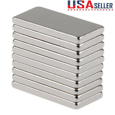 0-50pcs N50 Neodymium Block 20x10x2mm Magnet Super Strong Rare Earth Magnets