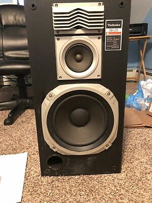 VINTAGE TECHNICS MODEL SB-L55 Linear Phase Speaker system