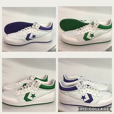60676c9b9cbb Converse Fastbreak 83 Mid Men s Size 8 9 10 10.5 Shoes Purple grape Green  Nwt