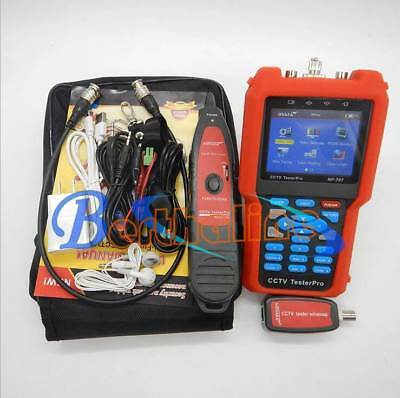 Pro CCTV Cable Tester Analog&CVBSSignal,cabletestertracker NF-707