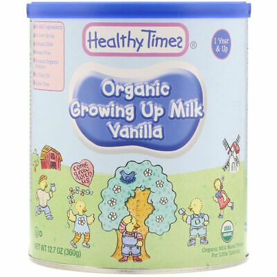 Healthy Times Organic Growing Up Milk Vanilla 1 Year & Up 12.7 oz (360 g)