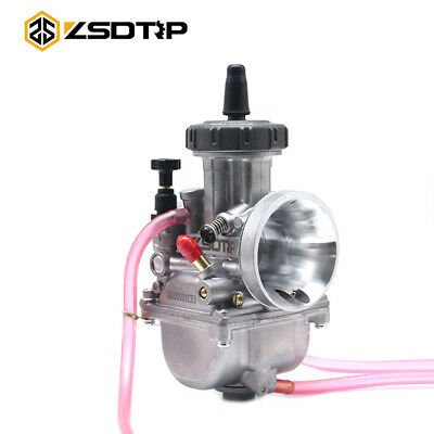 ZSDTRP Motorcycle Carburetor PWK 34mm For Racing CR250R RM125 KX125 500 Carb
