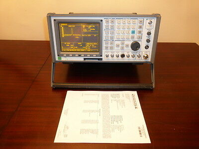 IFR Aeroflex COM-120B AM/FM Communications Service Monitor - LOADED & CALIBRATED