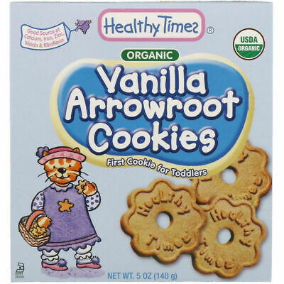 Healthy Times Organic Arrowroot Cookies Vanilla 5 oz (140 g)